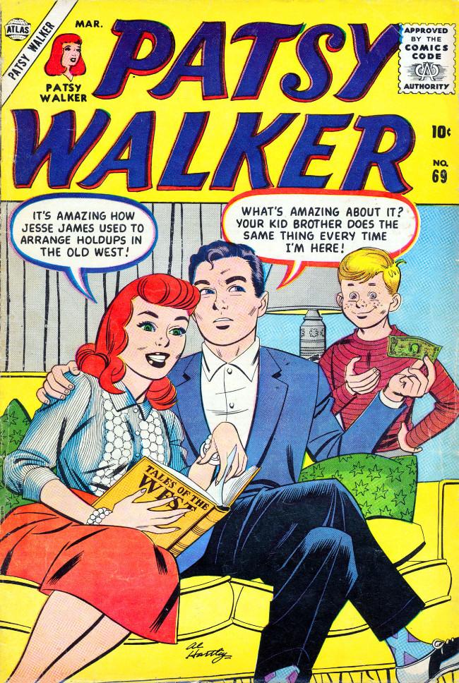 Couverture de Patsy Walker (Timely/Atlas - 1945) -69- (sans titre)