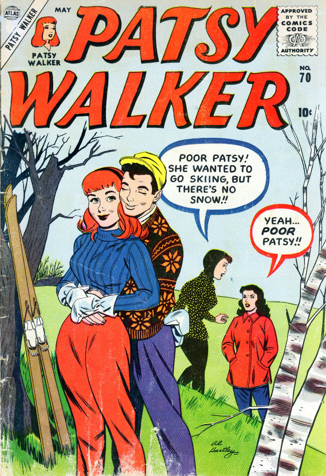 Couverture de Patsy Walker (Timely/Atlas - 1945) -70- (sans titre)