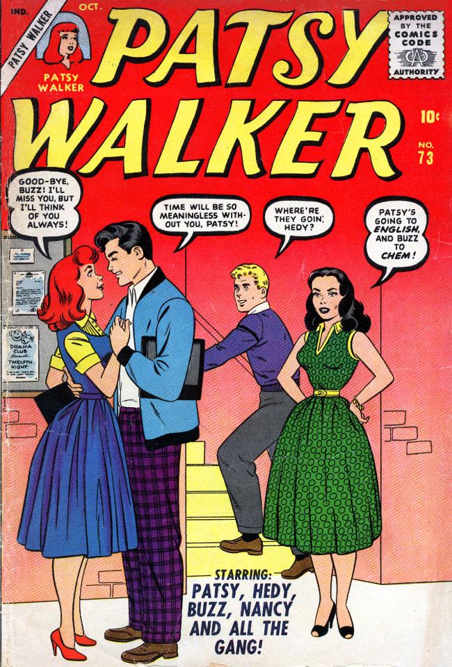 Couverture de Patsy Walker (Timely/Atlas - 1945) -73- (sans titre)