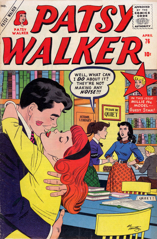 Couverture de Patsy Walker (Timely/Atlas - 1945) -76- (sans titre)