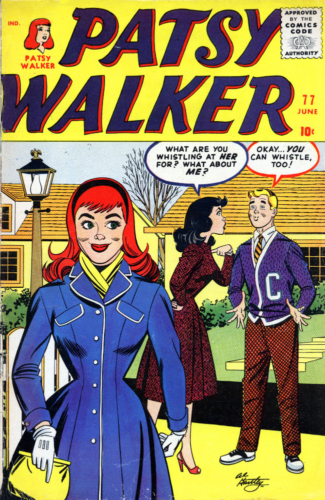 Couverture de Patsy Walker (Timely/Atlas - 1945) -77- (sans titre)