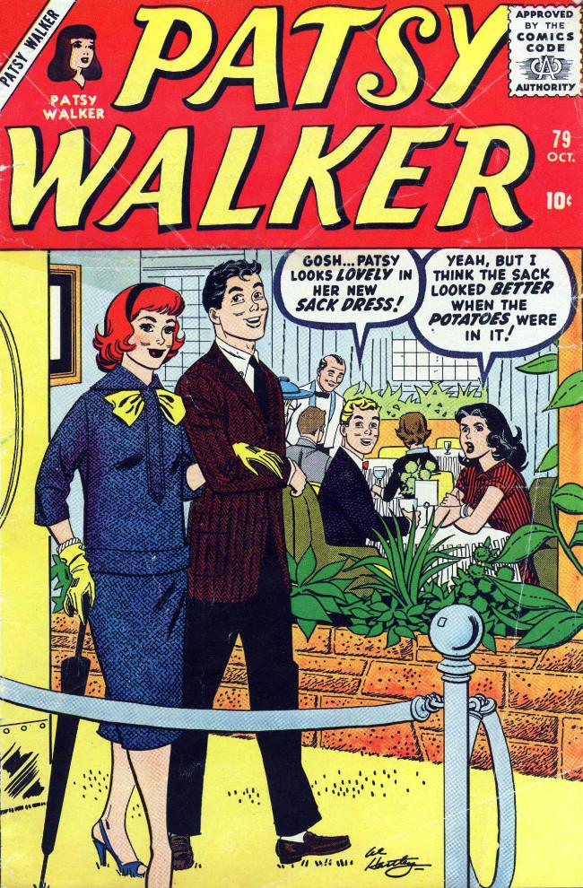 Couverture de Patsy Walker (Timely/Atlas - 1945) -79- (sans titre)