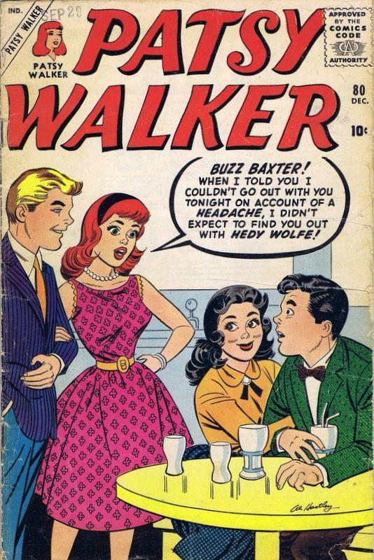 Couverture de Patsy Walker (Timely/Atlas - 1945) -80- (sans titre)