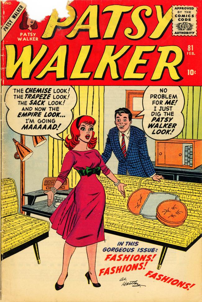 Couverture de Patsy Walker (Timely/Atlas - 1945) -81- (sans titre)