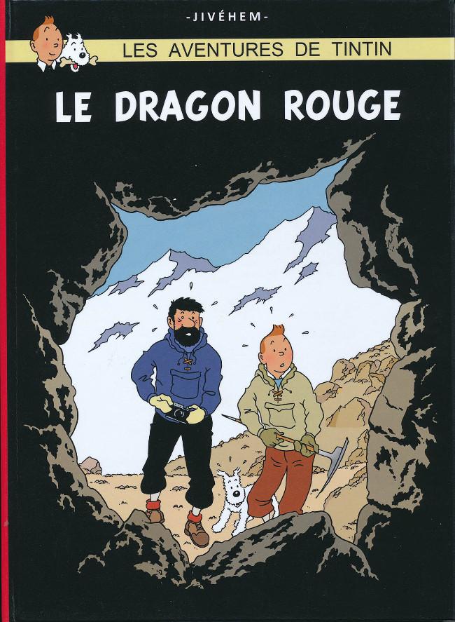 Couverture de Tintin - Pastiches, parodies & pirates -43- Le Dragon Rouge