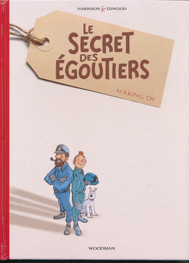 Couverture de Tintin - Pastiches, parodies & pirates - Le Secret des Egoutiers