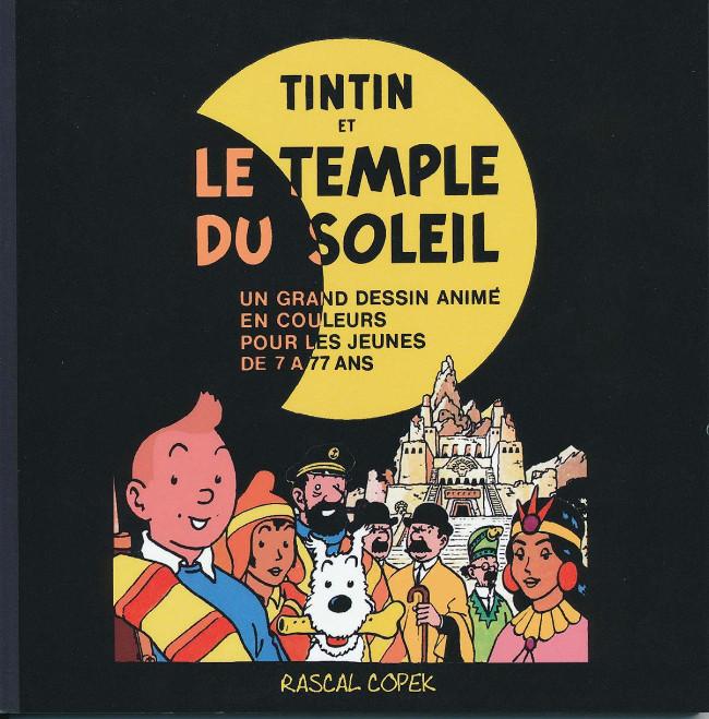 Couverture de Tintin - Pastiches, parodies & pirates -44PIR- Le Temple du soleil