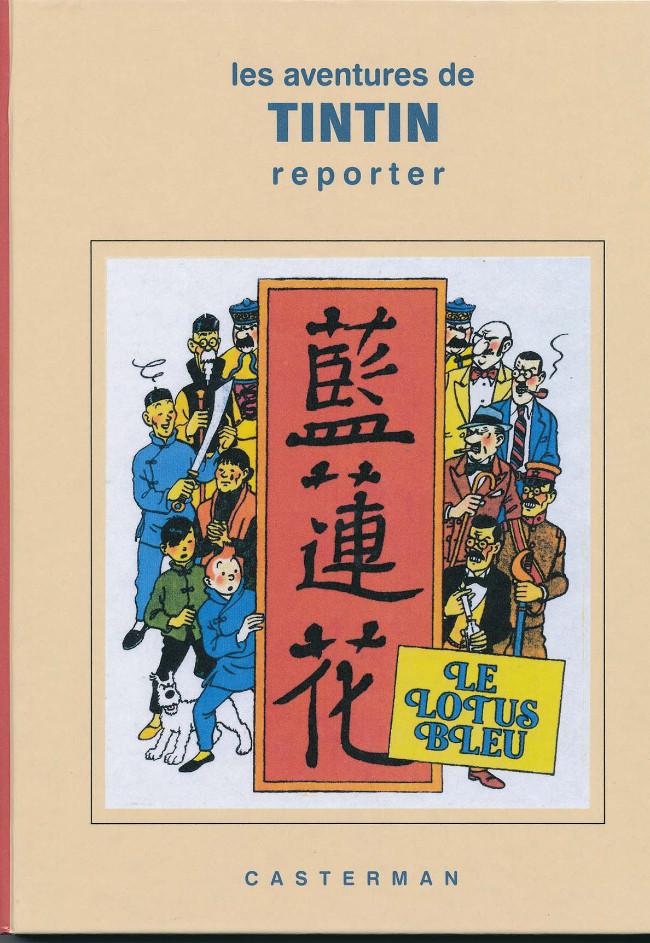 Couverture de Tintin - Pastiches, parodies & pirates -46PIR- Le Lotus Bleu