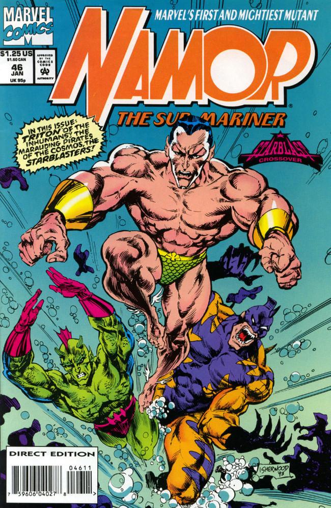 Couverture de Namor, The Sub-Mariner (Marvel - 1990) -46- (sans titre)