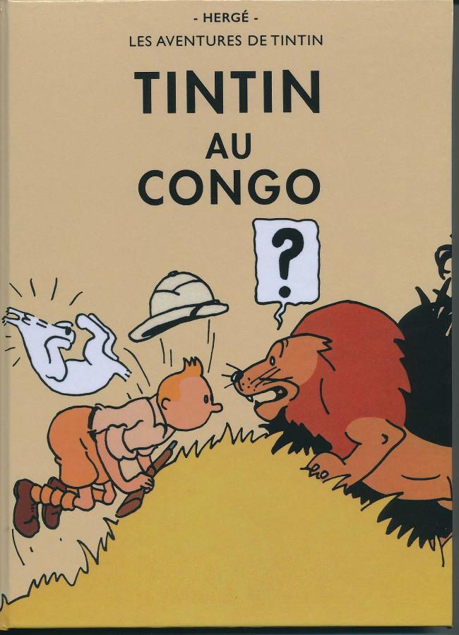 Couverture de Tintin - Pastiches, parodies & pirates -47PIR- Tintin au Congo