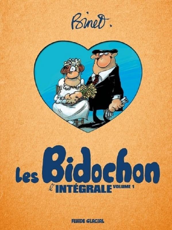 Couverture de Les bidochon -INT01- L'Intégrale volume 1
