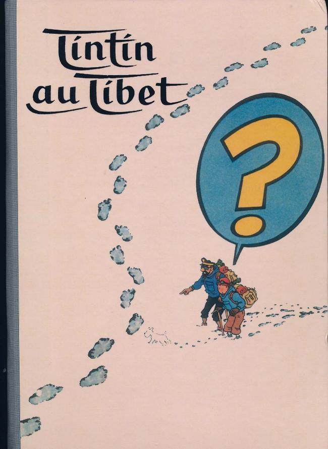 Couverture de Tintin - Pastiches, parodies & pirates -48PIR- Tintin au Tibet