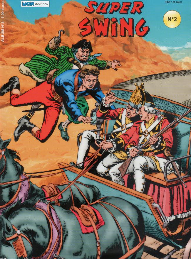 Couverture de Super Swing (2e série - 2019) -REC02- Album N°2 (du N° 5 au N° 8 )