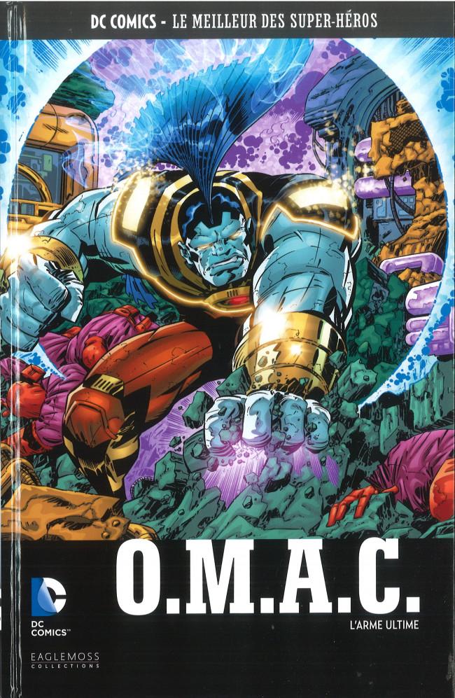 Couverture de DC Comics - Le Meilleur des Super-Héros -110- O.M.A.C. - L'Arme Ultime
