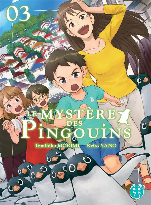 Couverture de Le mystère des pingouins -3- Tome 3