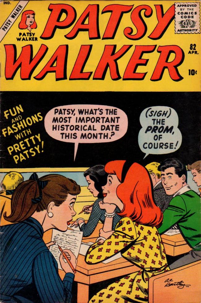 Couverture de Patsy Walker (Timely/Atlas - 1945) -82- (sans titre)