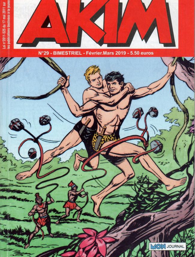 Couverture de Akim (3e série) -29- La chasse au trésor - Les cordes plombées