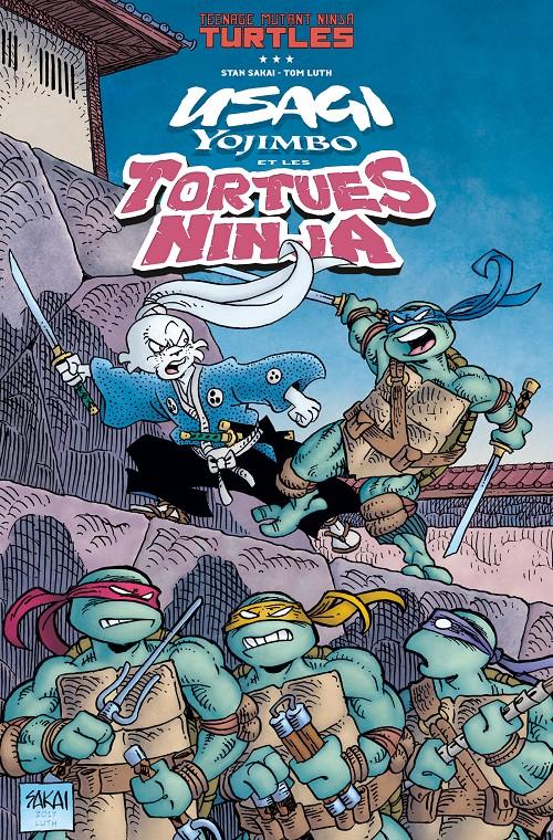 Couverture de Usagi Yojimbo -HS3- Usagi Yojimbo et les tortues ninja