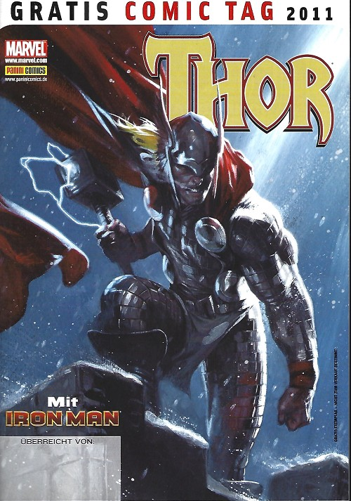 Couverture de Free Comic Book Day 2011 (Allemagne) - Thor mit iron man