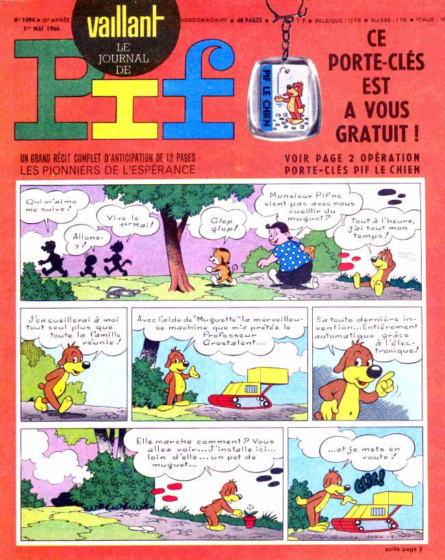 Couverture de Vaillant (le journal le plus captivant) -1094- Vaillant