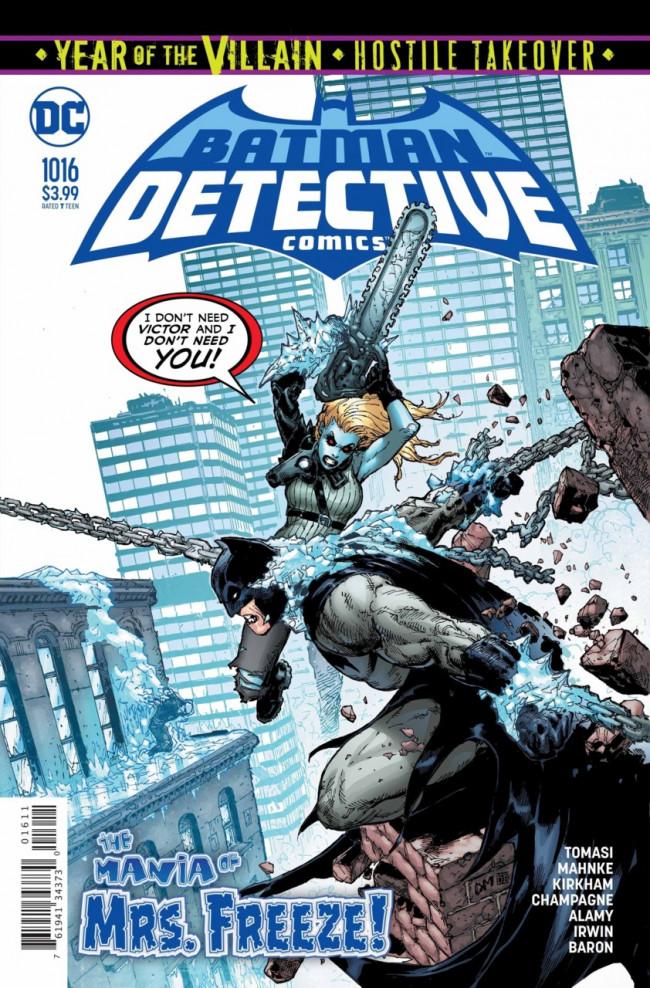 Couverture de Detective Comics (1937), période Rebirth (2016) -1016- Cold Dark World : Finale - In cold blood.