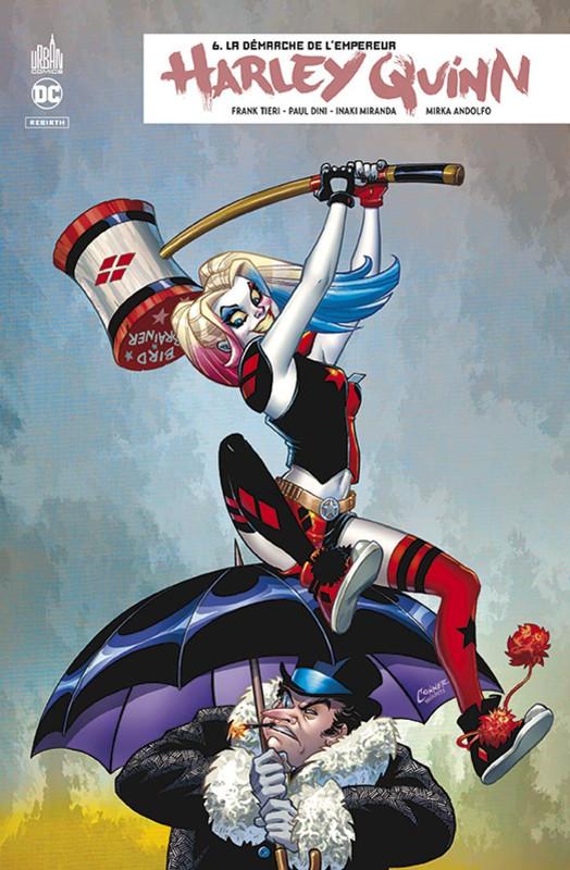 Couverture de Harley Quinn Rebirth -6- La Démarche de l'Empereur