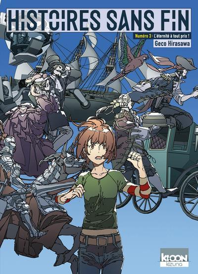 Couverture de Histoires sans fin (Hirasawa) -3- L'éternité à tout prix !