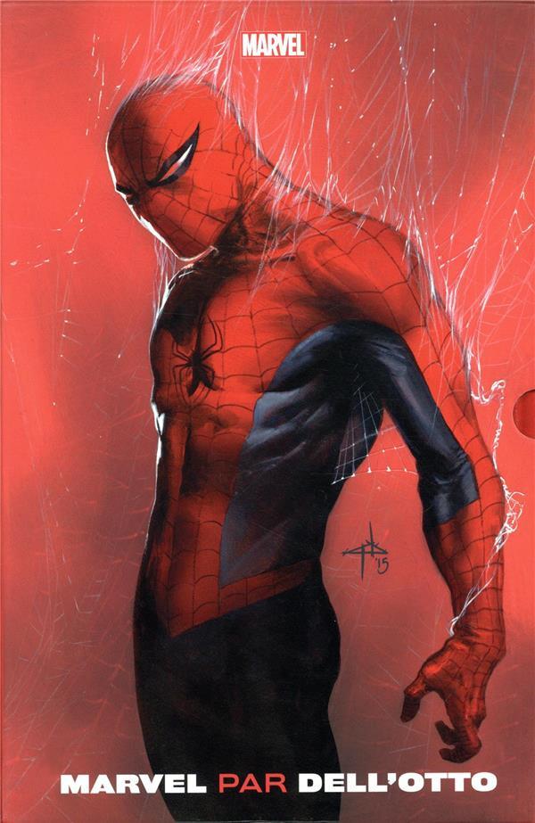 Couverture de Marvel par Dell'Otto