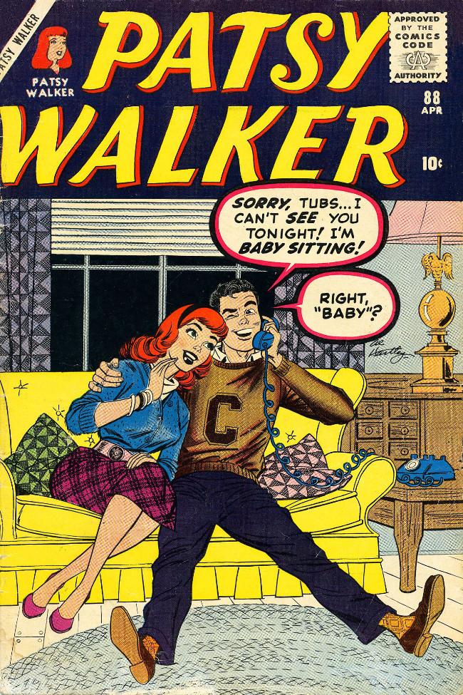 Couverture de Patsy Walker (Timely/Atlas - 1945) -88- (sans titre)