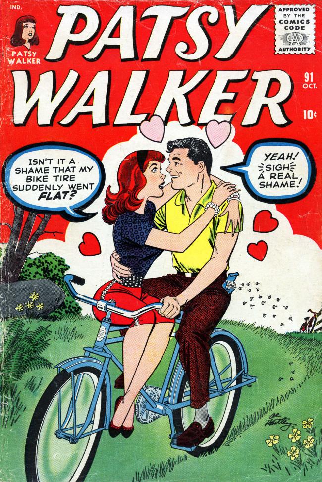 Couverture de Patsy Walker (Timely/Atlas - 1945) -91- (sans titre)