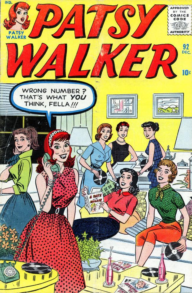 Couverture de Patsy Walker (Timely/Atlas - 1945) -92- (sans titre)