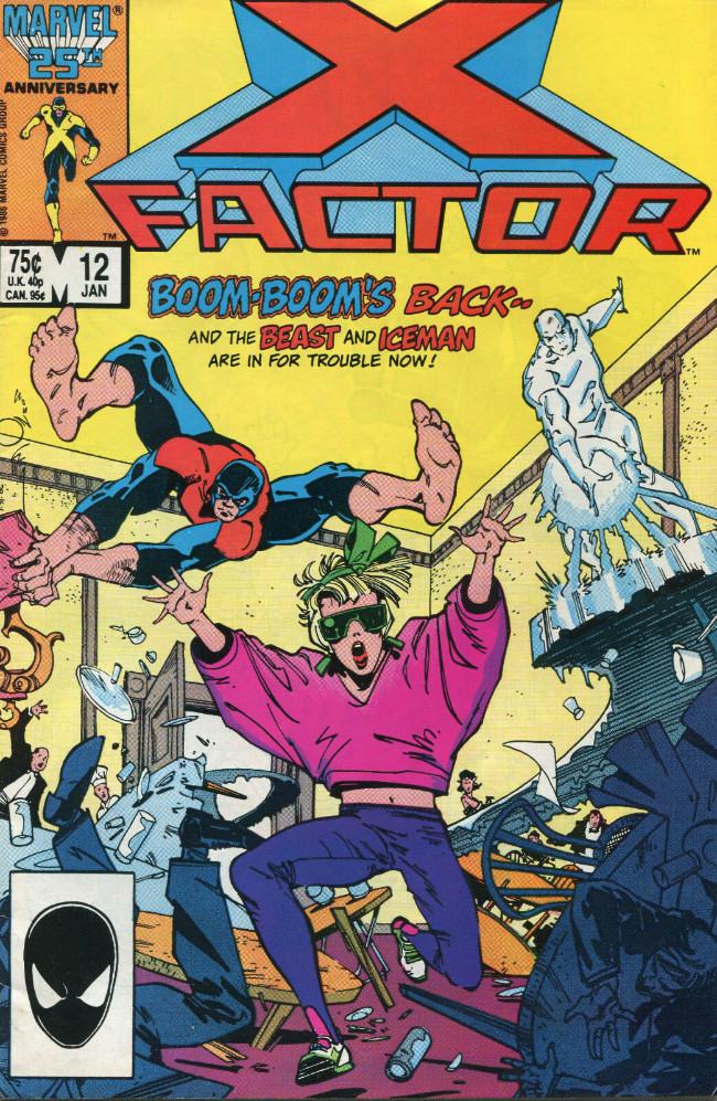 Couverture de X-Factor (Marvel comics - 1986) -12- Boom Boom Boom!