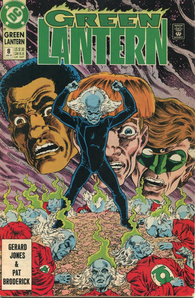 Couverture de Green lantern (1990) -8- Bringing It Together