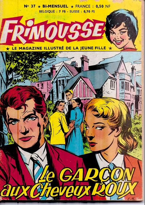 Couverture de Frimousse et Frimousse-Capucine -37- Le garçon aux cheveux roux