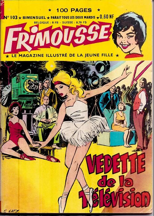 Couverture de Frimousse et Frimousse-Capucine -103- Vedette de la télévision