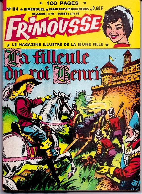 Couverture de Frimousse et Frimousse-Capucine -114- La filleule du roi henri