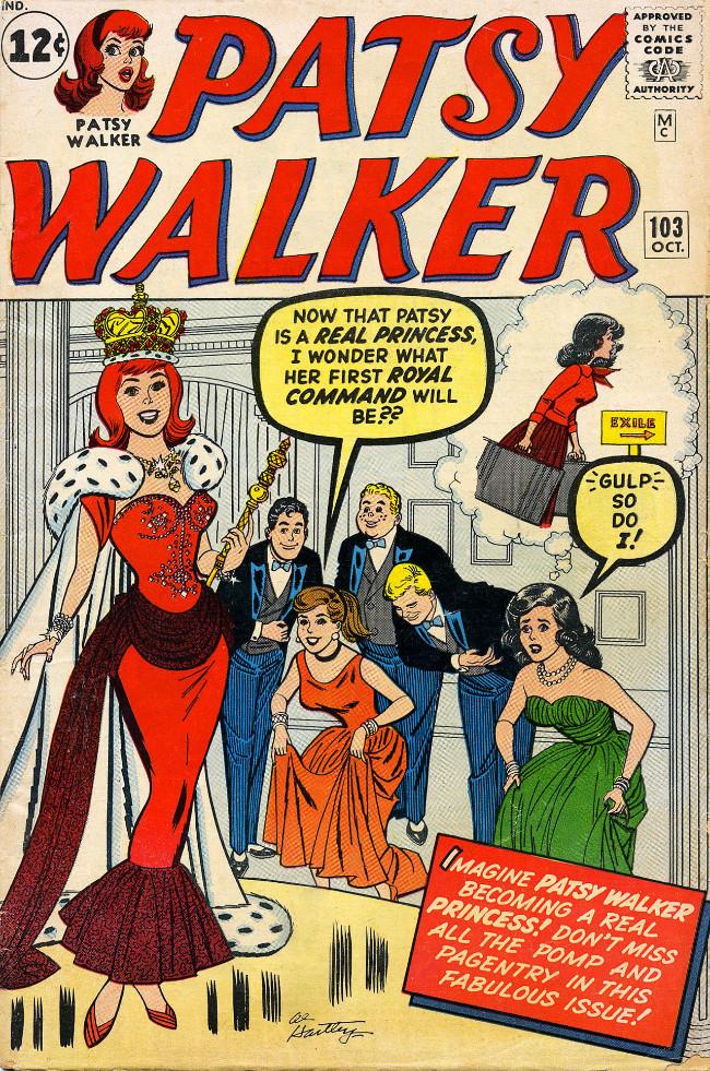 Couverture de Patsy Walker (Timely/Atlas - 1945) -103- (sans titre)