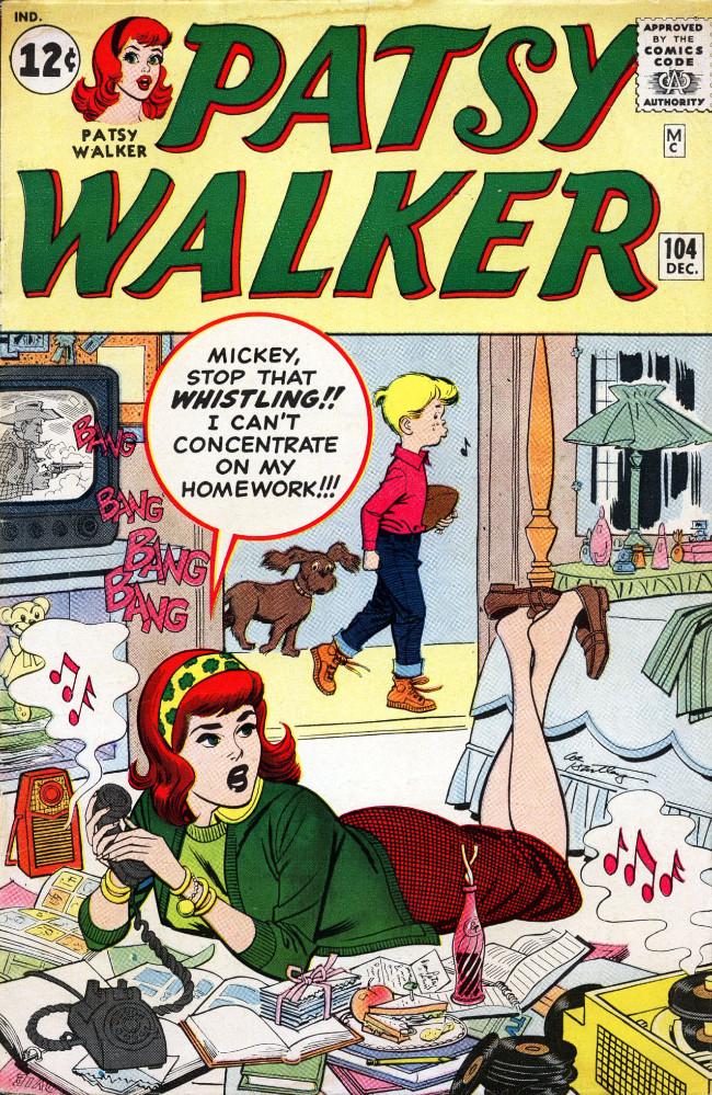 Couverture de Patsy Walker (Timely/Atlas - 1945) -104- (sans titre)