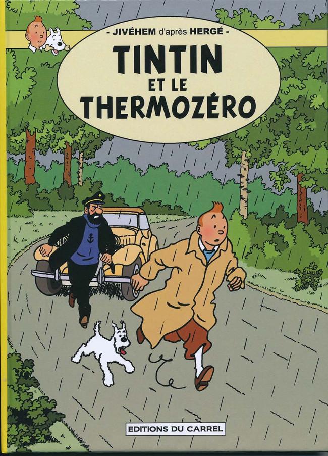 Couverture de Tintin - Pastiches, parodies & pirates -40PIR1- Tintin et le Thermozéro