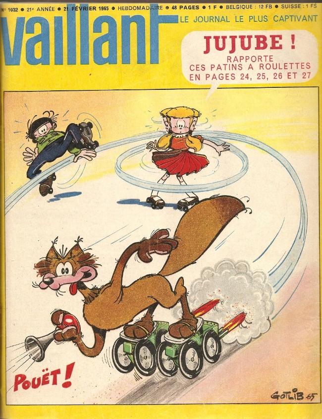 Couverture de Vaillant (le journal le plus captivant) -1032- Vaillant