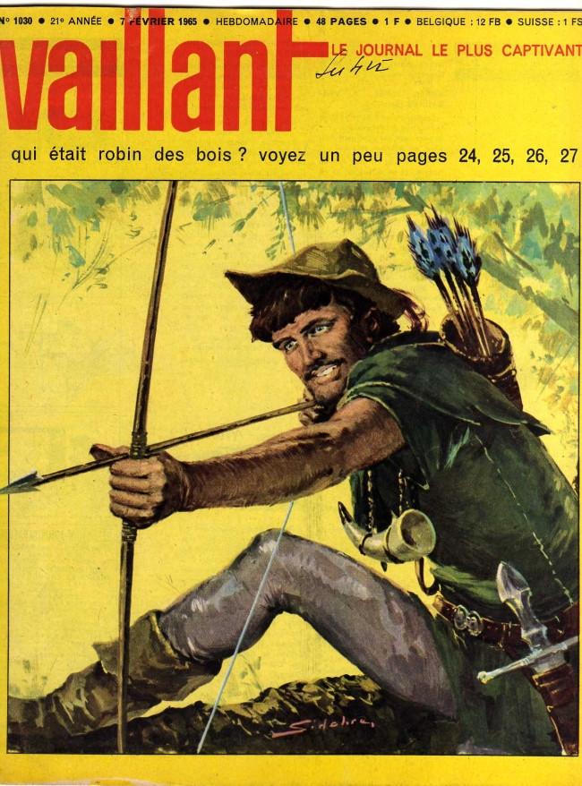 Couverture de Vaillant (le journal le plus captivant) -1030- Vaillant