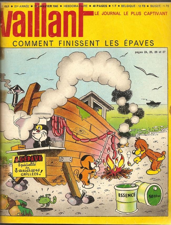Couverture de Vaillant (le journal le plus captivant) -1028- Vaillant