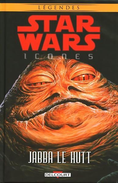 Couverture de Star Wars - Icones -10- Jabba le hutt