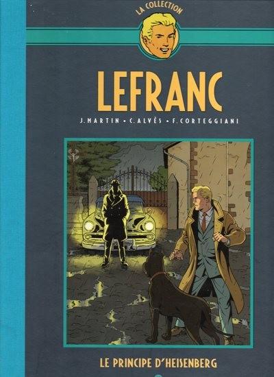 Couverture de Lefranc - La Collection (Hachette) -28- Le principe d'heisenberg