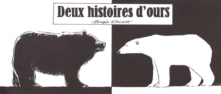 Couverture de Mini-récits et stripbooks Spirou -MR4262- Deux histoires d' ours