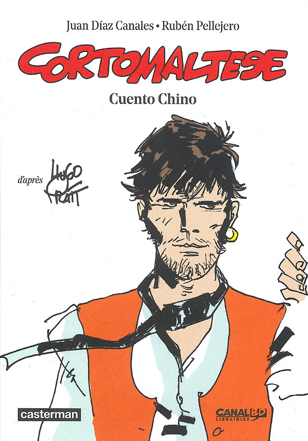 Couverture de Corto Maltese (2015 - Couleur Format Normal) -HS- Cuento chino