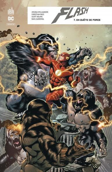 Couverture de Flash Rebirth -7- En quête de force