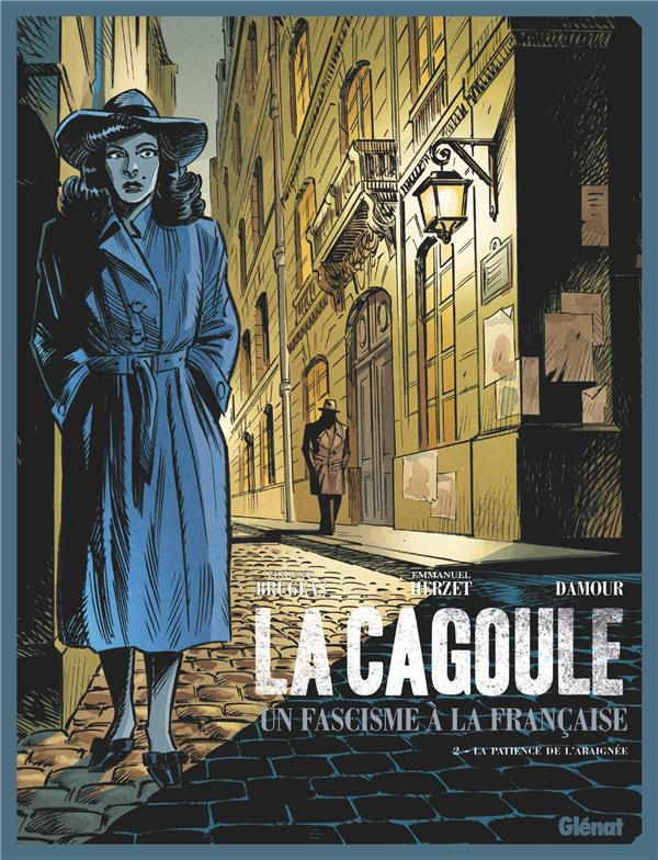 Couverture de La cagoule, un fascisme à la française -2- La patience de l'araignée