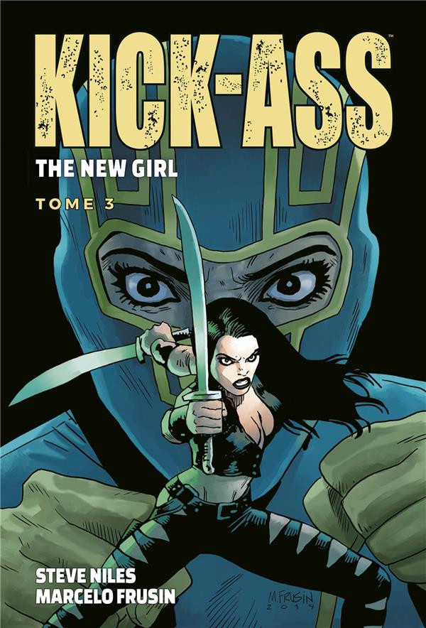 Couverture de Kick-Ass : The New Girl -3- Tome 3
