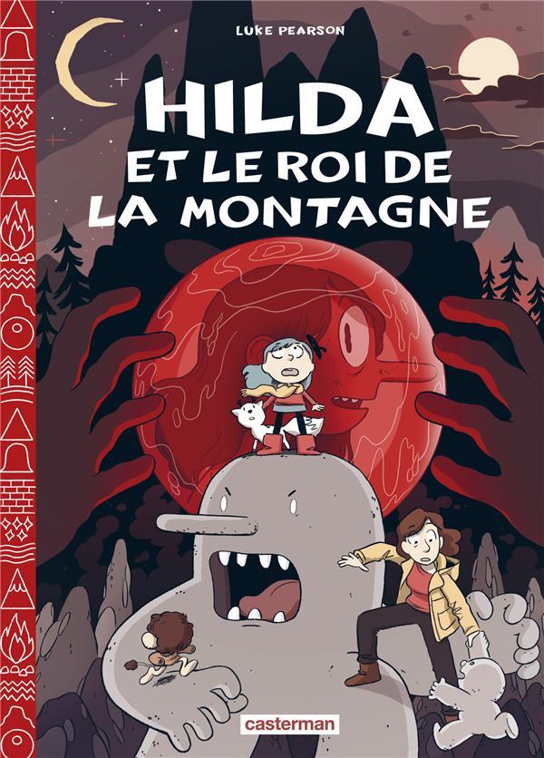 Couverture de Hilda (Pearson) -6- Hilda et le Roi de la montagne